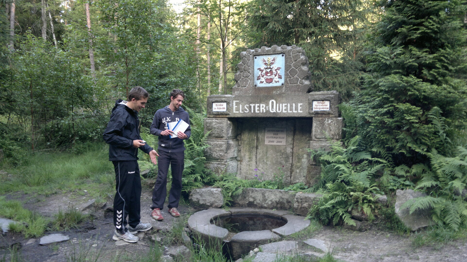 At the source of the Elster