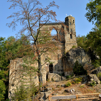 Remains of the monastery church